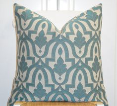Decorative Pillow Cover Accent Pillow by TurquoiseTumbleweed