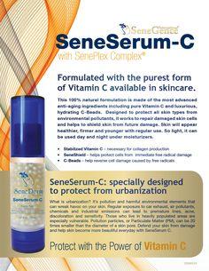 SeneSerum-c by Senegence (makers of LipSense).