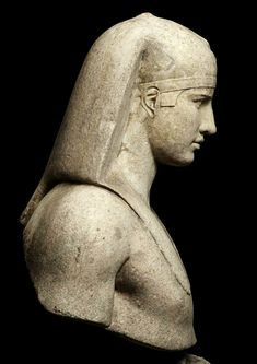 Roman Bust of Antinous - Osiris. 130-138 A.D.from the collection of Thomas Hope. Dutch/British 1769-1831. marble.http://hadrian6.tumblr.com
