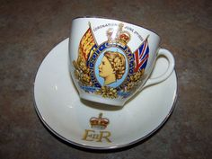 I would *love* to own a set of coronation tea cups & saucers!