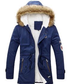 Mens Warm Parka Fur Collar Hooded Winter Thick Duck Down Coat Outwear Down Jacket Comfortabel And Warm Hot Sell Man Coat Fashion Coat For Ma From Fashionwest, $40.99   Dhgate.Com