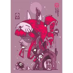 """ROOTKID"" coloured 2I6 Ball point on 5"" x 8"" 220gsm paper ------------------------------------------ #clogtwo #inkclog #InkAndClog #inkandclogstudio #neogeisha #japan #killtwosucceed #zincnitecrew #tamagochi #harajuku #harajukugirl by clog_two"