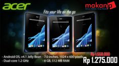 Klik disini-> http://makanja.com/14-tablet#/manufacturer-acer, Untuk tablet Acer Iconia, berbasis Windows 8. Buy Now!!