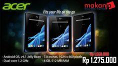 Klik disini-> http://makanja.com/14-tablet#/manufacturer-acer, Untuk tablet Acer Iconia, berbasis Windows 8. Buy Now!!