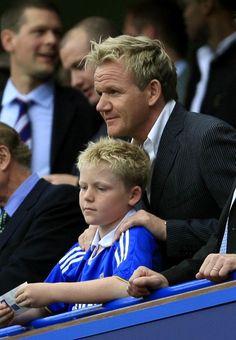 El chef Gordon Ramsay es fanático del Chelsea, ya me imagino como debe putear cuando pierde el equipo
