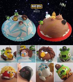 Bolo Meu: Angry Birds Star Wars II