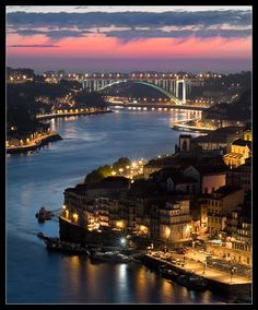 Porto, Portugal Have seen this view of Porto city. Places In Portugal, Visit Portugal, Spain And Portugal, Portugal Travel, Places Around The World, The Places Youll Go, Places To See, Around The Worlds, River Cruises In Europe