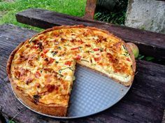 Slaný koláč s cuketou - obrázok 7 20 Min, Hawaiian Pizza, Quiche, Zucchini, Yummy Food, Delicious Meals, Recipies, Hamburger, Paleo