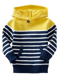 fashion for boys: striped pullover from gap