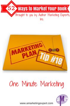 Easy and quick marketing techniques for you to try! Brought to you by Author Marketing Experts, Inc.