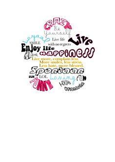Cilla Verwimp - Typografie Vreugde