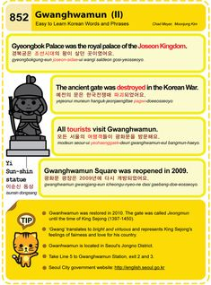 Easy to Learn Korean 852 - Gwanghwamun (Part Two)  Chad Meyer and Moon-Jung Kim  EasytoLearnKorean.com