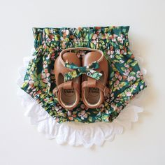 Autumn Forest Ruffle Bloomers