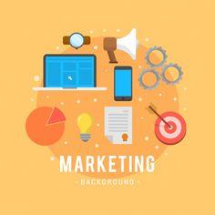 Marketing Definition, Backgrounds Free, Vector Free, January 2018, News, Design, Art, Art Background, Kunst