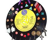 Record Earring Organizer - Earring Display - Alice Cooper. $9.99, via Etsy.