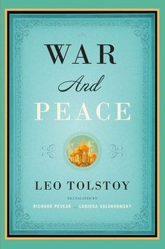 it took five months. but I read all 1215 pages of War and Peace.