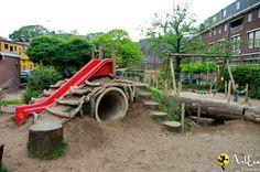 Speelheuvel schoolplein Nijmegen