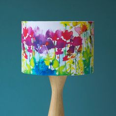 Butterfly Watercolour Lampshade Bringing the outside in.                                                                                                                                                      More