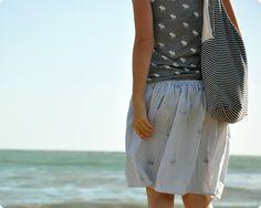 Handmade Summer Skirts by memi_the_rainbow
