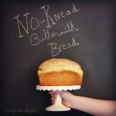 Why you should make no-knead buttermilk sandwich bread! Storybook Woods