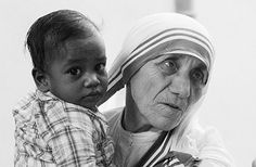 "Mother Teresa of Calcutta, ""Not all of us can do great things. But we can do small things with great love."""