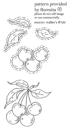 walker's 720 - cherry pattern by floresita's transfers, via Flickr