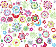 Jeannine Rundle - AD119A ABSTRACT FLOWERS AND BIRDS WRAP.jpg
