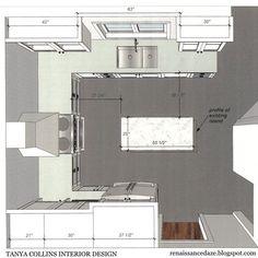Renaissance Daze: Kitchen Renovation: Updating a U-Shaped Layout