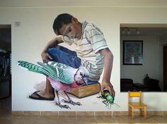 "JADE - ""La joya (The jewel)"" -Commissioned mural - Miraflores, Lima (Perú) - Apr 2017 / Photo by the artist"