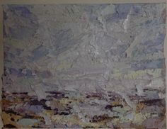 Michael Fairclough, Orkney Hoy Sound Medium,Oil on Paper,size Modern Art, Contemporary, Paper Size, Oil, Medium, Nature, Painting, Naturaleza, Painting Art