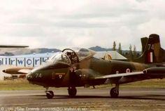 RNZAF BAC 167 Mk88 Strikemaster, NZ6374, Ardmore, 1990