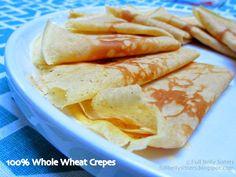 Full Belly Sisters: Simple Whole Wheat Crêpes @KingArthurFlour #Vitami...