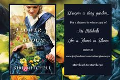 Enter to win Siri Mitchel's new book! I can't wait to read it!