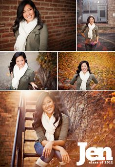 i like her outfit.. senior pictures.