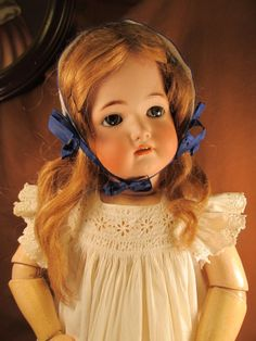 "Pretty 26"" Antique German Simon Halbig K R ""Child Doll"" 