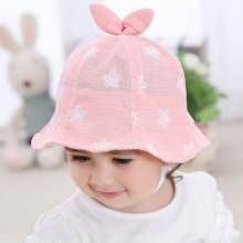 bfd97d9f Flower bucket has with ears for baby blue sun hats Baby Sun Hat, Baby Girl