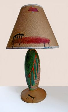 Cat Downstairs _ lamp