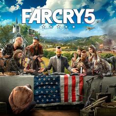 Who's excited for Far Cry 5?  #FarCry #FarCry5 #Ubisoft #America #Gaming #Xbox #PC #PS4 #GameArt #ConceptArt #Art #FanArt #Illustration #Scifi #Fantasy