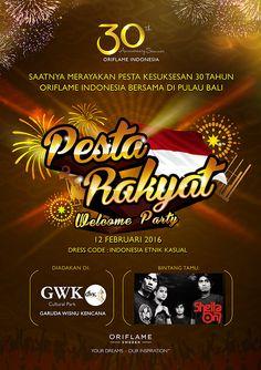 30th Anniversary Seminar - Pesta Rakyat | Oriflame Cosmetics