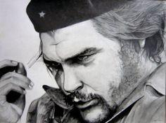 Retrato de Ernesto Guevara, el Che