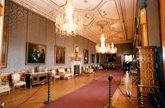 Some of the rooms in Buckingham Palace and Windsor Castle (pictured) haven't been decorated for 60 years