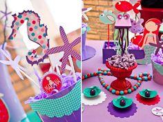 cute mermaid party details