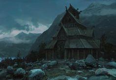 Northern Land by Tomas Honz | Fantasy | 2D | CGSociety