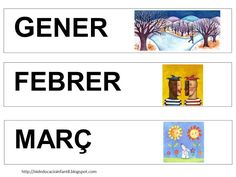 Foto: CARTELLS PELS MESOS DE L'ANY AL CALENDARI Classroom, Album, Education, Veronica, Ideas, Sentences, Classroom Setting, Preschool Printables, Preschool Education