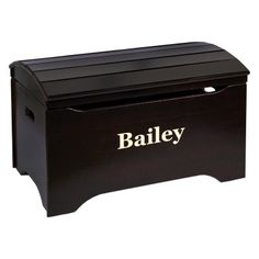 Little Colorado Solid Wood Toy Storage Chest with Personalization in $179.99
