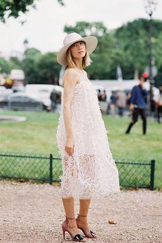 Wow wow wow. #AnyaZiourova stuns in Paris.