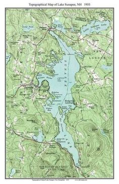 Best New Hampshire Lakes Topo Maps Images On Pinterest Cards - Print topo maps