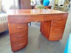 Mid Century Modern Heywood Wakefield Desk by JasperKane on Etsy