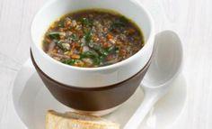 Amarantovo mrkvová polévka