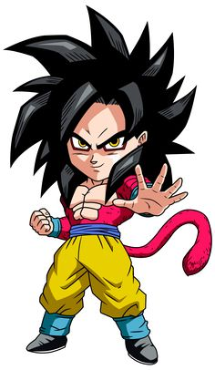 goku ssj4 chibi by maffo1989 on DeviantArt